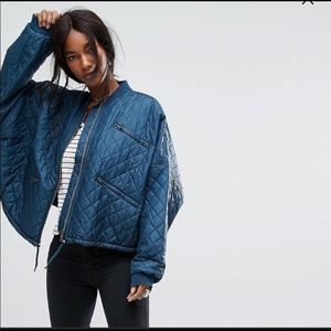 Free People oversized jacket